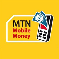 Paiement via MTN mobile money